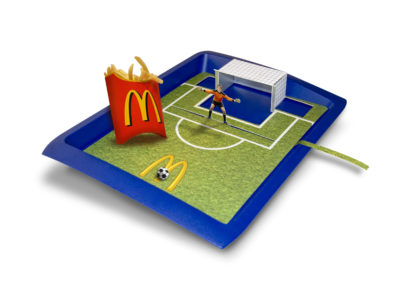 Mc Donalds WK Happy Meal Game