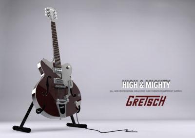 Gretsch guitar ad
