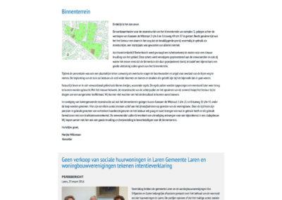 WBV Van Erfgooiers - Nieuws
