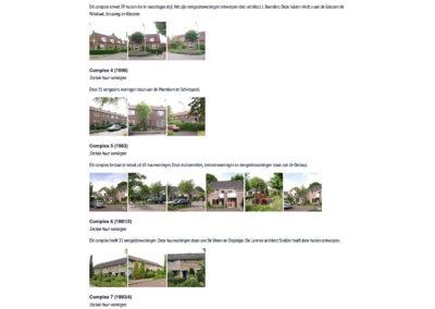 WBV Van Erfgooiers - Woningcomplexen